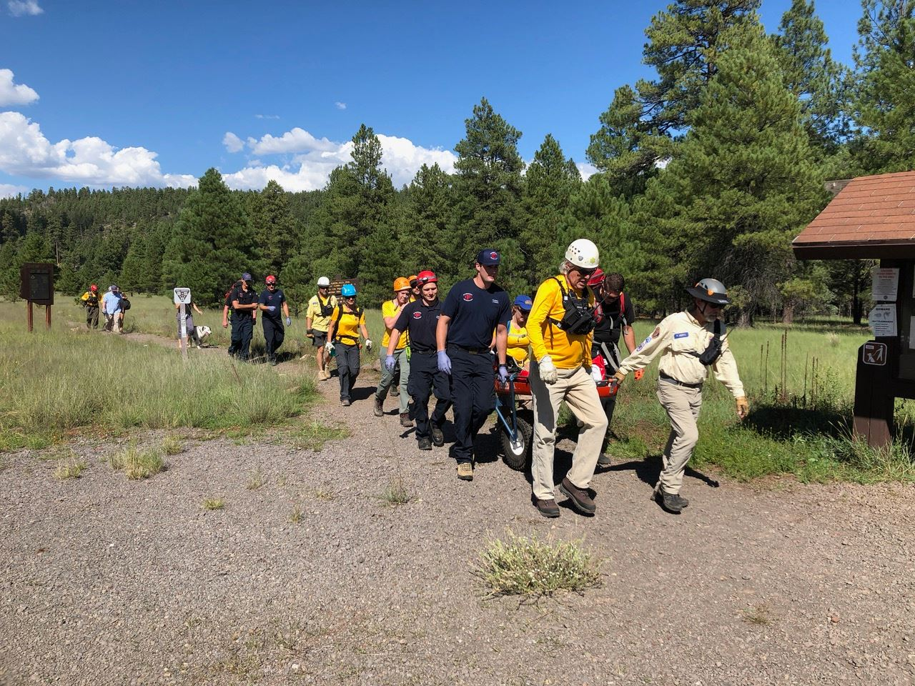 12-Year-Old Rescued After Being Injured in Climbing Accident